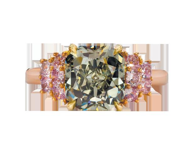 钻石戒指展示4